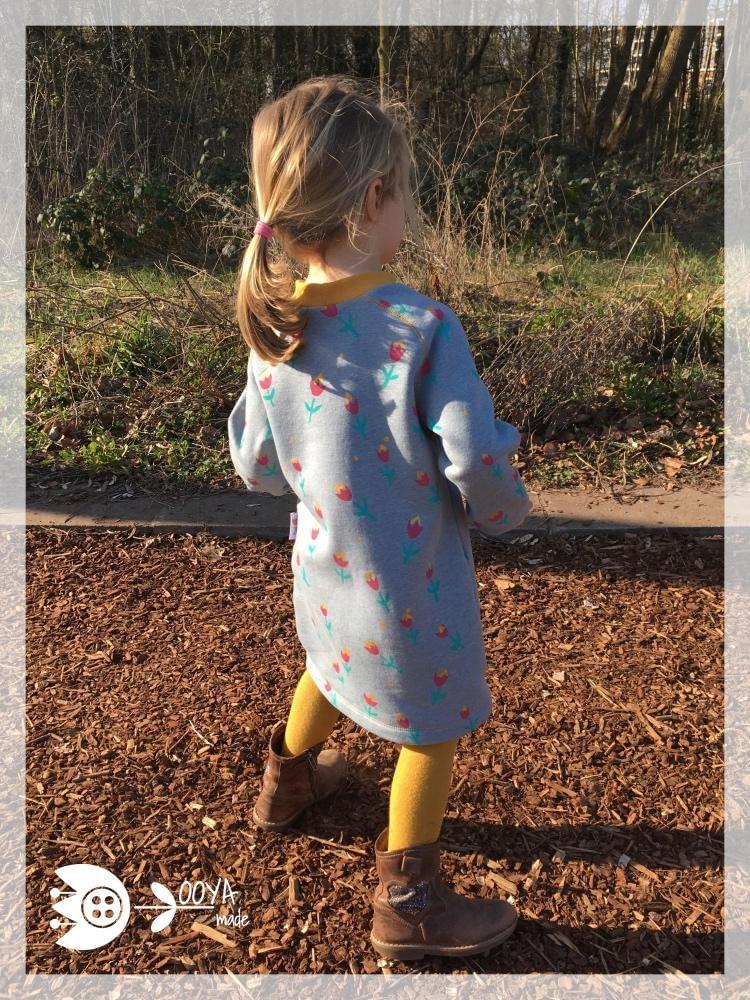 sweaterdress bloemenprint